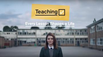 Get Into Teaching - DfE latest advert