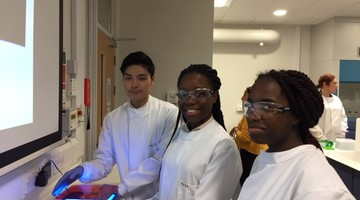 PCR Session at Middlesex University