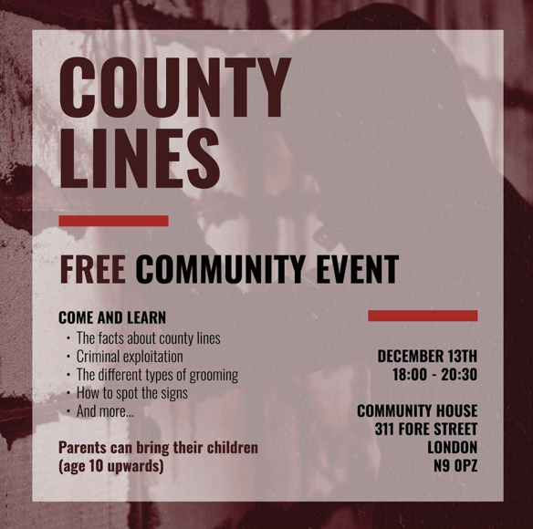 County Lines Event - Dec 2019