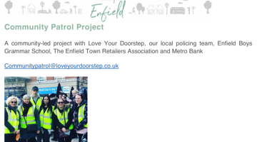 'Love Your Doorstep' Community Patrol