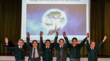 St Michael's Primary School Climate Change Assembly