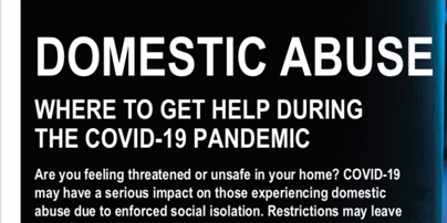 Help with Domestic Abuse