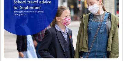 Travel to School Advice - Sept 2020