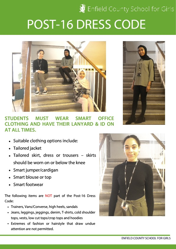 Sixth form dress code 1