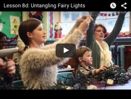 Lidl - Lesson 8d: Untangling Fairy Lights (xmas 2015)