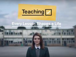 'Get Into Teaching' DfE advert - Nov 18